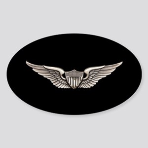 Aviator Sticker (Oval)
